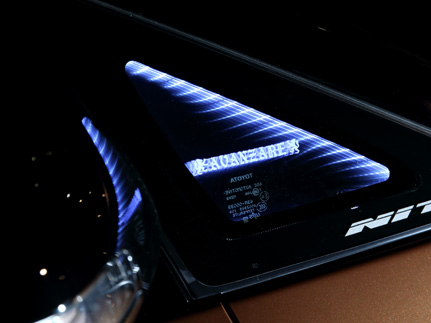 80/85 エスクァイア ESQUIRE   インテリア その他【アヴァンツァーレ】エスクァイア 80 ファンタスティック ライティングシステム 左右2枚セット ホワイトLED AVANZAREロゴ有