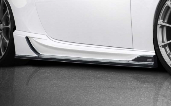 BRZ | サイドステップ【ロエン / トミーカイラ】BRZ ZC6 RR STREET ZERO PREMIUM Edition サイドアンダーフラップ ウェットカーボン製 クリア塗装済