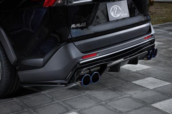 RAV4 XA50 | エキゾーストキット / 排気セット【ルーフ / クール】新型RAV4 50系 <RAV-SS>SLASH 4TAIL MUFFLER