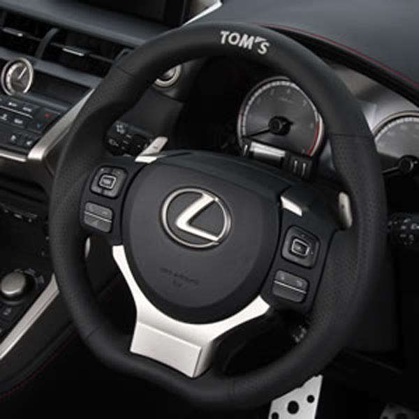 レクサス NX | ステアリング【トムス】LEXUS NX200t/300/300h AGZ/AYZ10系 (H26/7-H29/9) ガングリップステアリング パンチングレザー