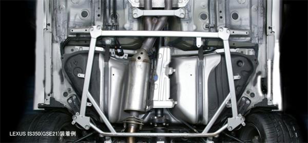 86 - ハチロク - | 補強パーツ / 室外 その他【トムス】86 ZN6 後期(H28/7-) エンジン:FX20 ボディブレース 取付部位:トランク内