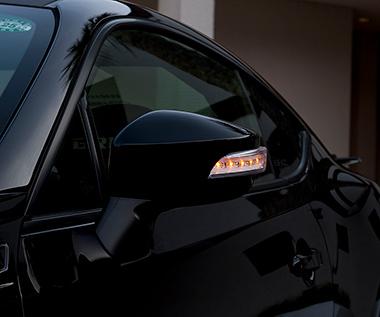 86 | ウインカーミラーカバー / ウインカー付ミラー | TOMS 86 - ハチロク - | ウインカーミラーカバー / ウインカー付ミラー【トムス】86 ZN6 (2012/2-) LEDドアミラーウィンカー ブルーLED ver. 塗装済 クリスタルホワイトパール (K1X)