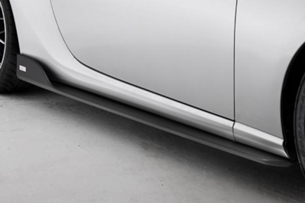 86 - ハチロク -   サイドステップ【トムス】86 ZN6 (2012/2-) サイドディフューザー 塗装済 クリスタルホワイトパール (K1X)