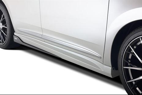 65W 60W ハリアー HARRIER | サイドステップ【トムス】ハリアー 60系 サイドステップ 塗装済 ブラック (202)