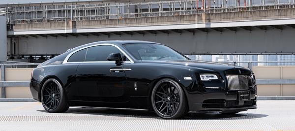 【★送料無料】 Rolls-Royce Wraith   エアロセット (その他)【アーティシャンスピリッツ】ROLLS-ROYCEレイス 665C 【SPORTS LINE BLACK LABAL YAMATO Edition】3P KIT(CFRP)