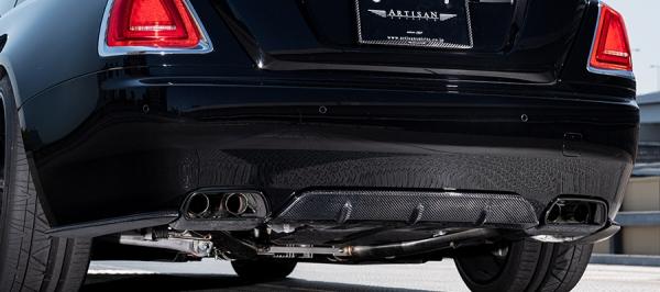 【★送料無料】 Rolls-Royce Wraith | リアアンダー / ディフューザー【アーティシャンスピリッツ】ROLLS-ROYCEレイス 665C 【SPORTS LINE BLACK LABAL YAMATO Edition】リアディフューザー3P (CFRP)