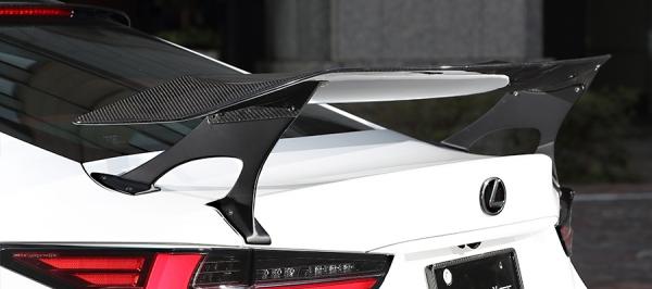 レクサス RC | GT-WING【アーティシャンスピリッツ】レクサスRC 300/300h F SPORT ASC10-RCZLZR 後期【SPORTS LINE BLACK LABEL】GT WING(ARTISAN × VOLTEX)CFRP