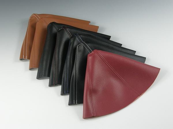 NC ロードスター | シフトノブ【ズームエンジニアリング】ロードスター NC ATシフトノブ合皮レザーブーツ付 ブラック&ブラック