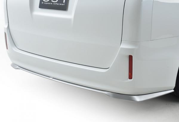 80/85 ヴォクシー VOXY | リアバンパーカバー / リアハーフ【ジーコーポレーション】ヴォクシー 80系 グレード:X/V GS-i リアアンダースポイラー 塗装済 ブラック<202>