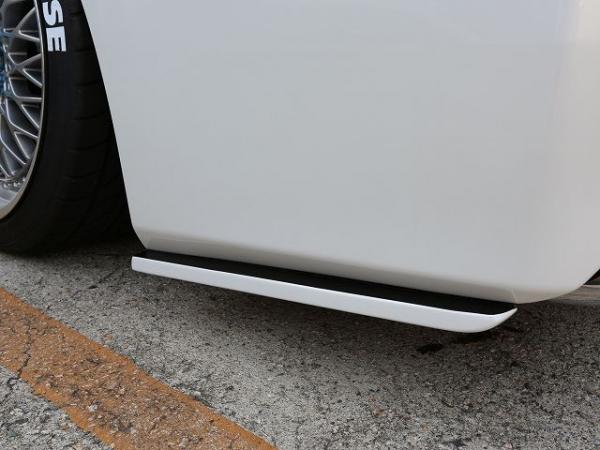 30 ヴェルファイア | リアマットガード / リアサイドスポイラー【シックスセンス】ヴェルファイア 30系 V/X 後期 ジュール リアサイドフラップ 単色塗装済