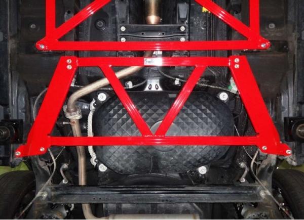コペン | フロアサポート / メンバーサポート【タナベ】コペン LA400K フロアブレース リア