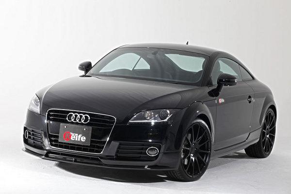 Audi TT 8J | フロントハーフ【ガレージベリー】AUDI TT 8J クーペ 後期 (2010~) フロントリップスポイラー ウレタン製