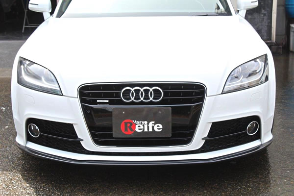 Audi TT 8J   フロントリップ【ガレージベリー】AUDI TT 8J クーペ S-Line 後期 (2010~) フロントリップスポイラー FRP製