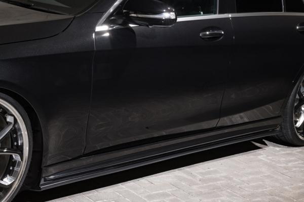 BENZ S W222   サイドステップ【エクスクルージブ ゼウス】ベンツ Sクラス W222 S450 AMG Line 【Prussian Blue】サイドステップ ショート