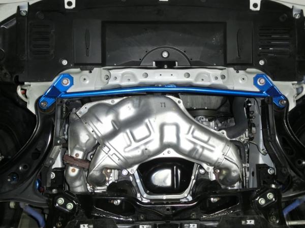 BRZ | ロアアームバー【クスコ】BRZ ZC6 パワーブレース フロントロワアームプラス