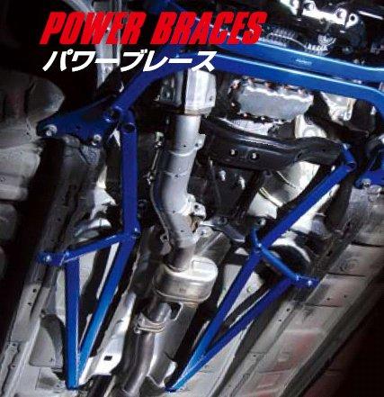 60/65 VOXY | 補強パーツ / 室外 その他【クスコ】ヴォクシー AZR60G パワーブレース フロアーセンター・プラス
