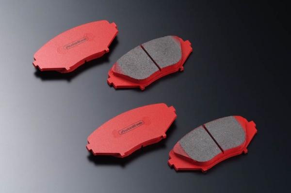 GF カペラ | ブレーキパット / 前後セット【オートエクゼ】カペラセダン GF系 (200001~) 2WD ストリートブレーキパッド 前後セット