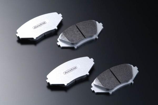 GG アテンザ   ブレーキパット / 前後セット【オートエクゼ】アテンザ GG系 23Z (400001~) カーボンメタルブレーキパッド 前後セット