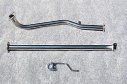 HA12/22 アルトワークス | フロントパイプ【ジェイワークス】アルトワークスK6A(FF.4WD) オートジュエル フロントパイプ触媒レス競技専用 HA22(K6A)