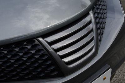 ジューク | フロントグリル【キュリオスモデルス】ジューク F15 マークレスグリル 純正色塗装済品
