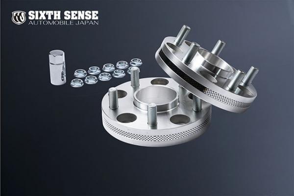 ホイールスペーサー | ホイールスペーサー | SIXTH SENSE 汎用ホイールスペーサー | ホイールスペーサー【シックスセンス】ハブ一体型ワイドトレッドスペーサー 5H PCD114.3 ハブ径:60Φ PCD:P1.5 厚み:25mm