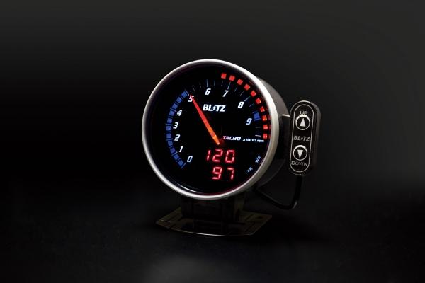 汎用   メーター 油温・水温【ブリッツ】FLD タコメーター E/G油温タイプ ハイブリッド車用