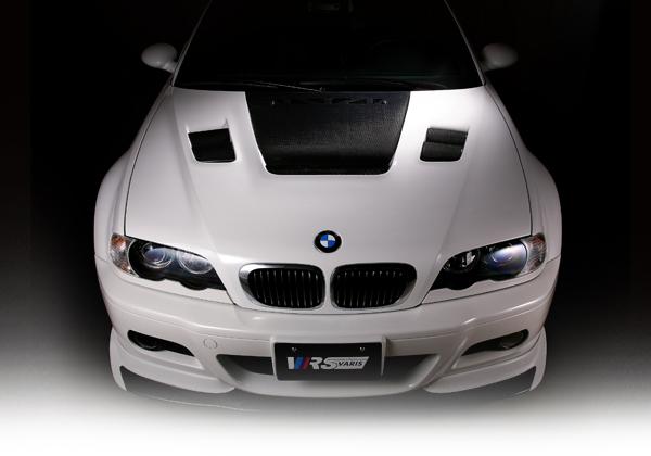BMW 3 Series E46   ボンネットフード【ブイアールエス】VRS E46 M3・CSL クーリングボンネット VSDC製法