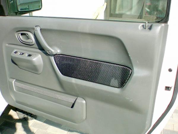 JB23 ジムニー   インテリアパネル【クライムマックス】ジムニー JB23 インナードアパネル カーボン 運転席側