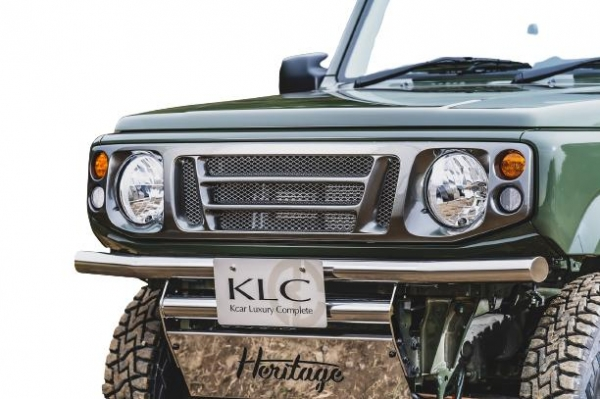Jimny Sierra フロントグリル KLC 74 卓越 ジムニーシエラ FRP製 日本限定 JA 未塗装 フェイスグリル ケーエルシー JB74W