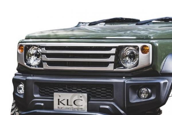 Jimny Sierra フロントグリル KLC 74 ジムニーシエラ 即納最大半額 FRP製 未塗装 70 ケーエルシー フェイスグリル JB74W 初売り