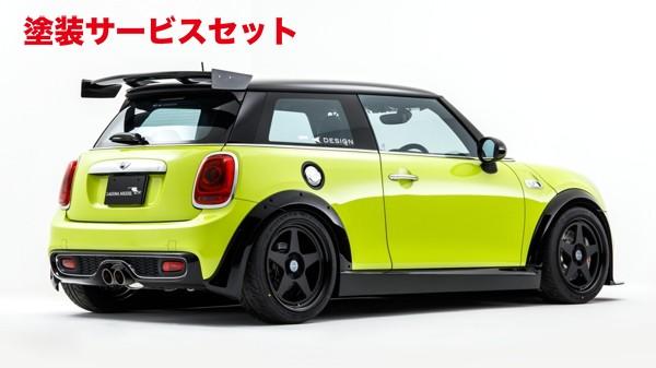 ★色番号塗装発送BMW Mini F56 | リアウイング / リアスポイラー【アールケイデザイン】MINI F56 COOPER S (2014/4~) リヤウイング