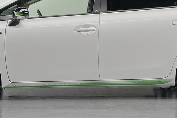 プリウスアルファ | ステッカー【ロジャム】プリウスアルファ ZVW40/41W (2011/5~) VERDE サイドデカール