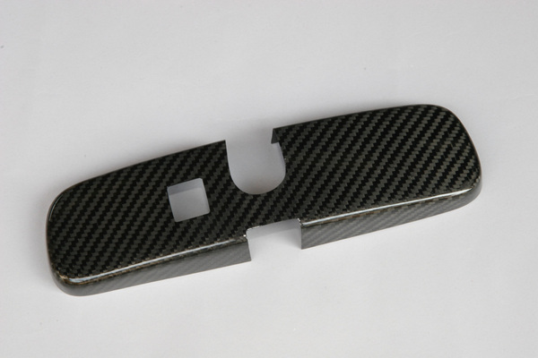 Z34 | ルームミラー【アールエスダブリュ】 フェアレディZ Z34 ルームミラーパネル 綾織ブラックカーボン製