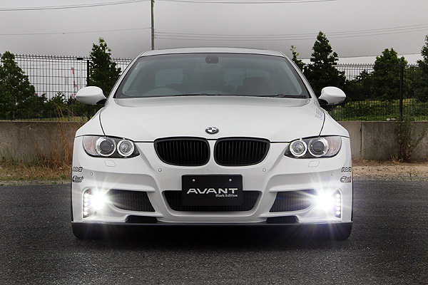 BMW 3 Series COUPE E92 | フロント デイライト【ランド エアロテック】BMW E92 クーペ 前期 ABANT FRONT BUMPER用 LED DAYLIGHT KIT