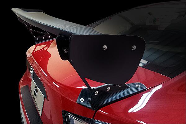 BRZ | GT-WING【ランド エアロテック】BRZ DIRect 3D GT-WING ワイドマウント付き 本体&翼端板=FRP
