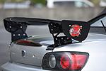 S2000 AP1/2 | GT-WING【ランド エアロテック】S2000 AP1/2 Normal Body GT-WING 3D CARBON (1350mm)/AP1.2 S2000用マウント付(FRP製)