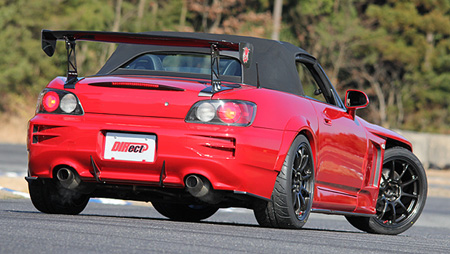 S2000 AP1/2 | オーバーフェンダー / トリム【ランド エアロテック】S2000 AP1/2 DIRect×TRACY SPORTS COLLABORATION BODY KIT REAR WIDE FENDER COVER