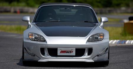 S2000 AP1/2 | フロントバンパー【ランド エアロテック】S2000 AP1/2 Normal Body FRONT BUMPER+3D-CANARD(FRP)