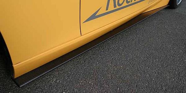 Z34 | サイドステップ【フジムラオート】フェアレディZ Z34 サイドフリッパー FRP製(黒ゲルコート)