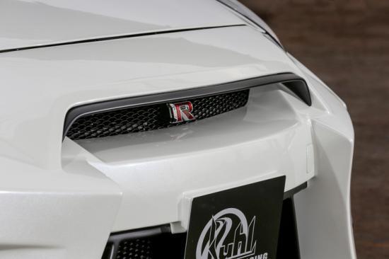 【ルーフ / クール】[R35]グリルトップモール ハイグレードタイプ 【適合車種: R35GT-R】