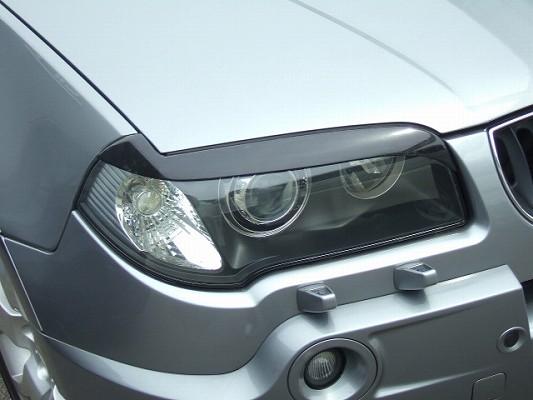 BMW X3 E83 | アイライン【シルキーシャークプロジェクト】BMW X3 E83 アイライン シルバーカーボン