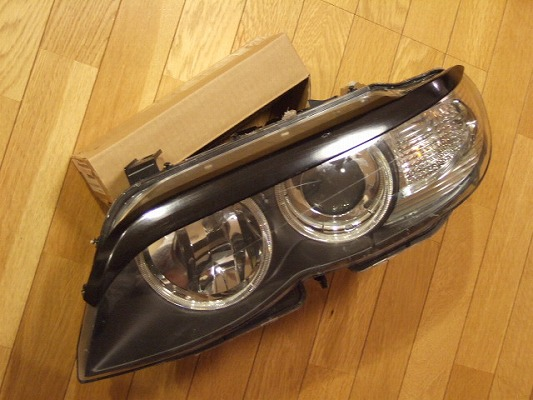 BMW X5 E53   アイライン【シルキーシャークプロジェクト】BMW X5 E53 後期型 アイライン ブラックカーボン 平織り
