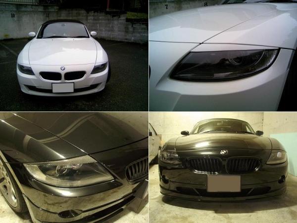 BMW Z4 E85/86 | アイライン【シルキーシャークプロジェクト】BMW Z4 E85/E86 前期/後期共通 アイライン Type2 シルバーカーボン