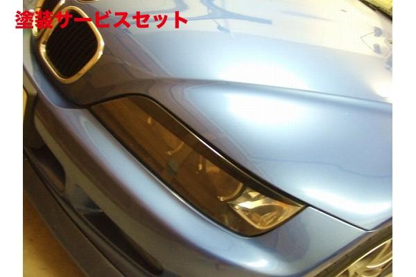 ★色番号塗装発送BMW Z3 E36/37   アイライン【シルキーシャークプロジェクト】BMW Z3 前期/後期共通 アイライン Type5 ブラックカーボン 綾織り