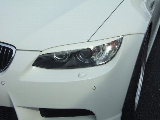 BMW 3 Series COUPE E92 | アイライン【シルキーシャークプロジェクト】BMW 3シリーズ E92 LCI前モデル アイラインガーニッシュ タイプ1 綾織りブラックカーボン クリア塗装済