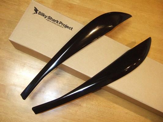 BMW 3 Series F30/F31/F34   アイライン【シルキーシャークプロジェクト】BMW 3シリーズ F30 アイライン Type1 ブラックカーボン 平織り