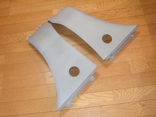 ビート | フロントフェンダー / (交換タイプ)【シルキーシャークプロジェクト】ビート PP1 フロントフェンダー Type1(純正形状) FRP未塗装・黒ゲルコート仕上げ