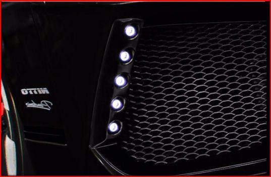 200 ハイエース ワイド | フロント デイライト【スティンガー】ハイエース 200系 4型 ワイドボディ 専用LEDデイライトキット