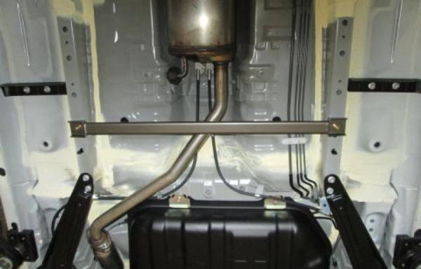 リアラダーバー【シュピーゲル】モノコックバー リア スチール製リジット ダイハツ ウェイク LA700S ※2WD車専用