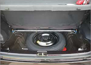 L700/710 ミラジーノ | 補強パーツ / リアトランク内【シュピーゲル】ミラジーノ L700S.L710S トランクバー